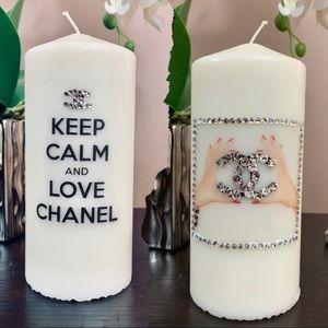 Rhinestone Decorative Candle